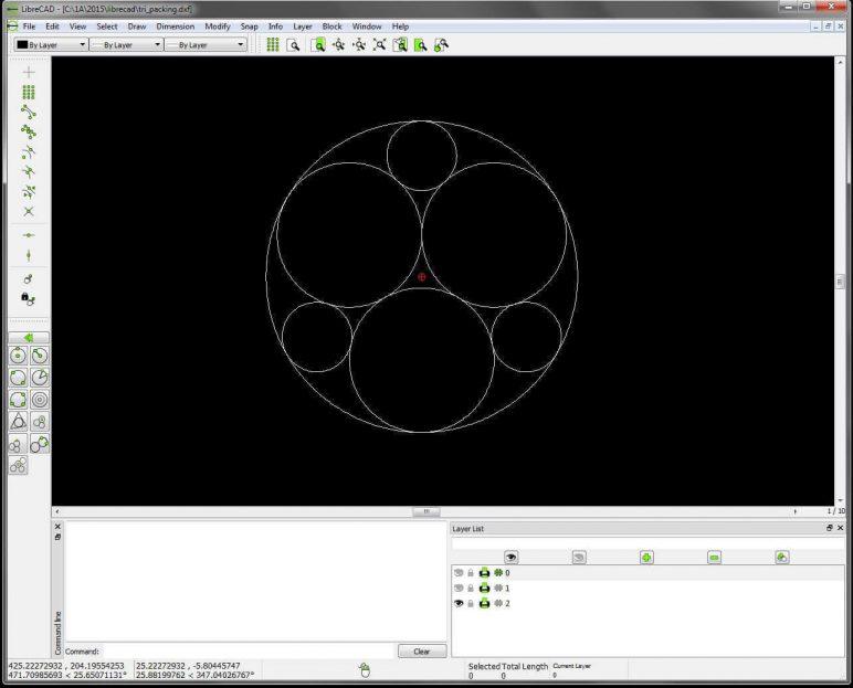 Image of Les meilleurs logiciels 3D : modélisation 3D/dessin 3D/CAO 3D: LibreCAD