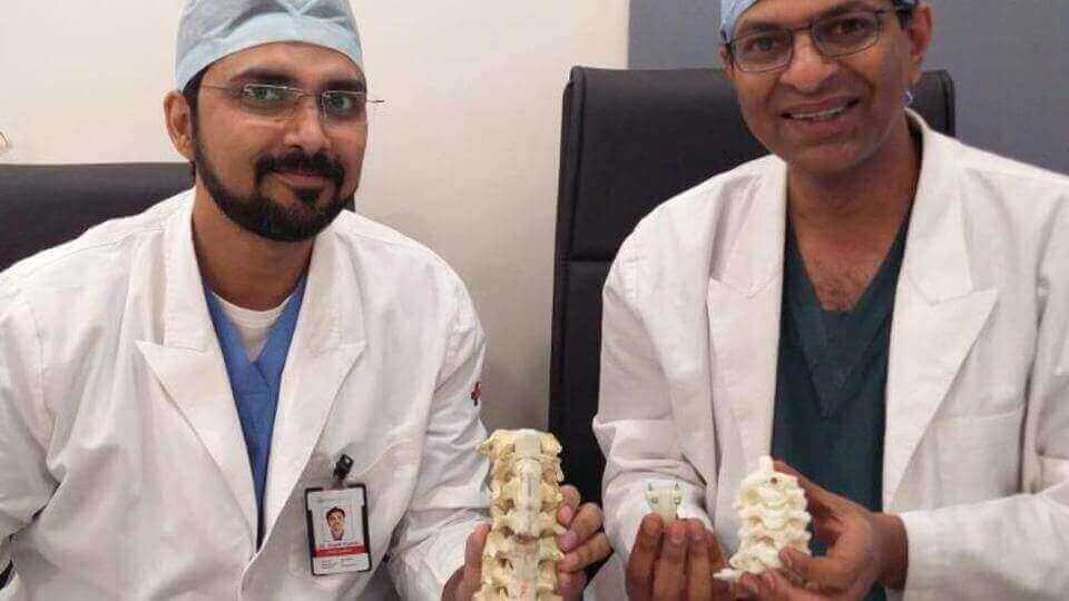 Indian Woman Walks Again thanks to 3D Printed Vertebrae | All3DP