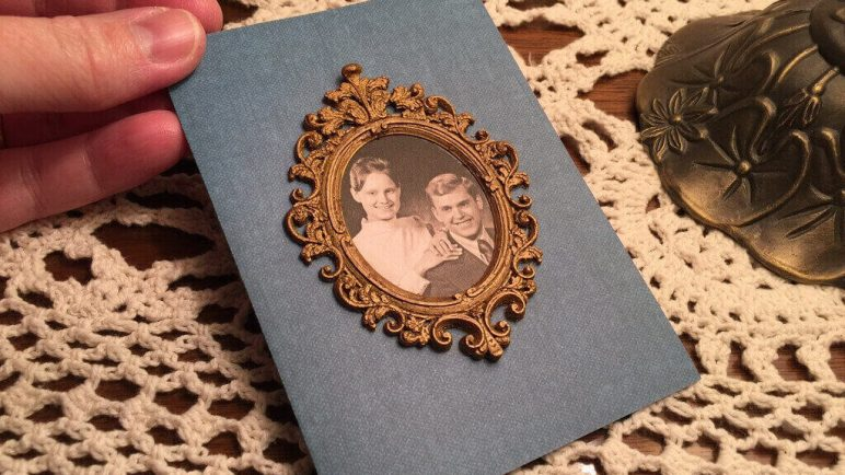 Image of 3D Printing Ideas – 40 Easy Home Decor Things to 3D Print: Baroque Picture Frame