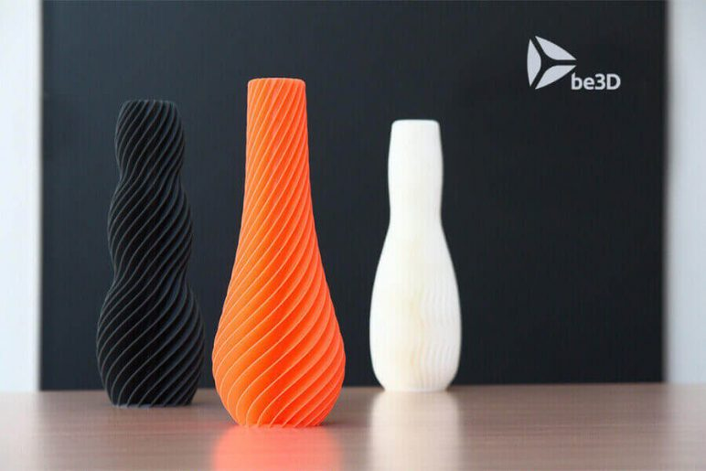 Image of 3D Printing Ideas – 40 Easy Home Decor Things to 3D Print: SPIRAL Vase