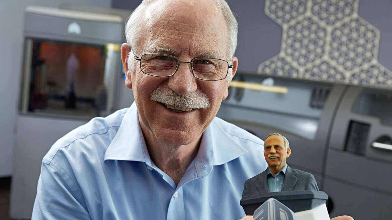 """Featured image of """"Father of 3D Printing"""" Chuck Hull Awarded by Western Society of Engineers"""