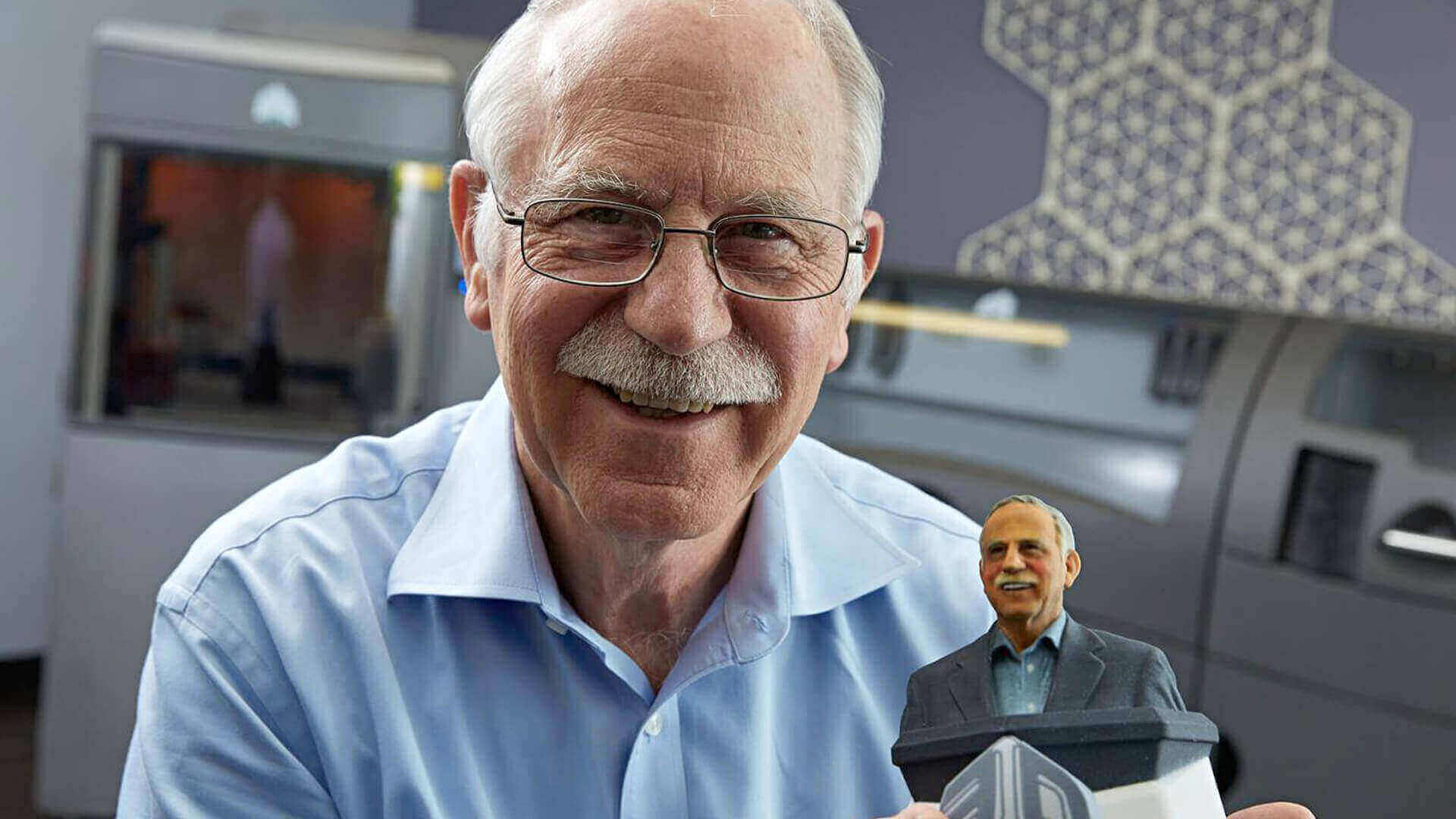 """""""Father of 3D Printing"""" Chuck Hull Awarded by Western Society of Engineers 