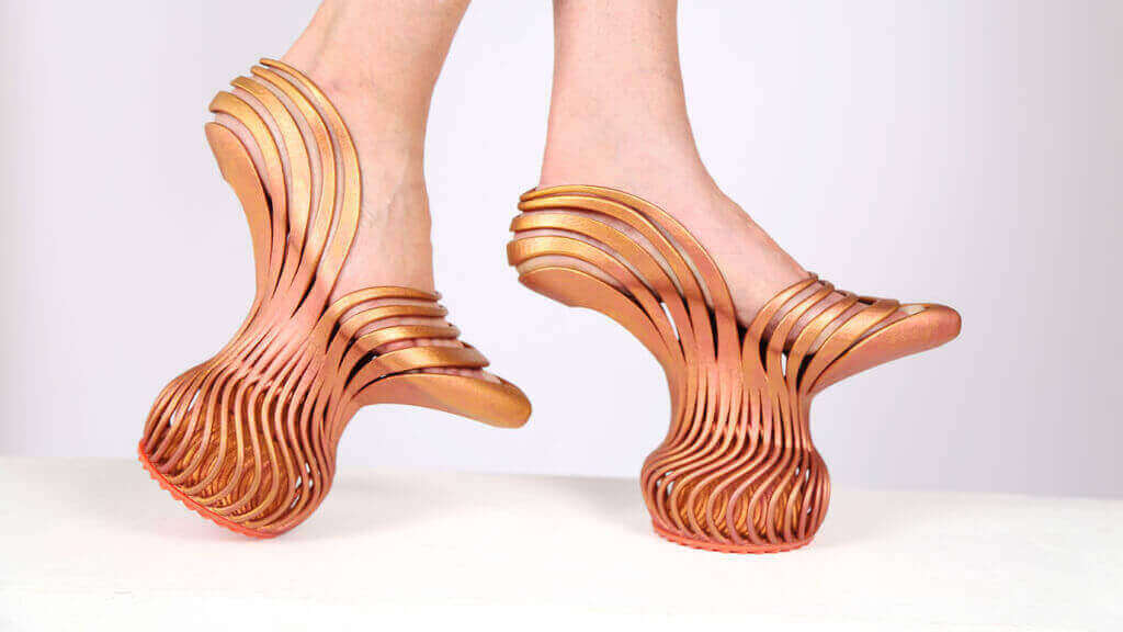 These Spring Heel Shoes Can Only Be Made with 3D Printing | All3DP