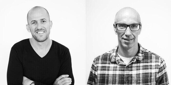 Left: Former MakerBot CEO Jonathan Jaglom/Right: Current CEO Nadav