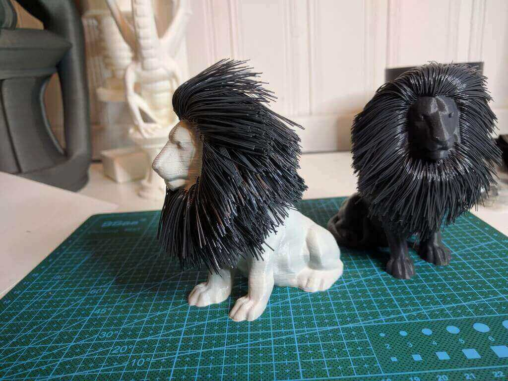 hairy lion