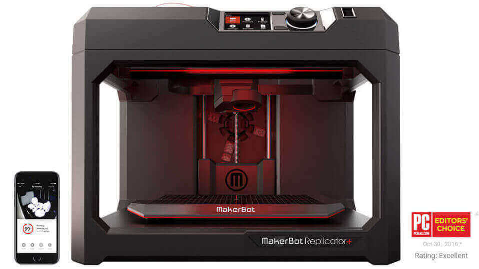 MakerBot Replicator+ Wins IF Design Award | All3DP