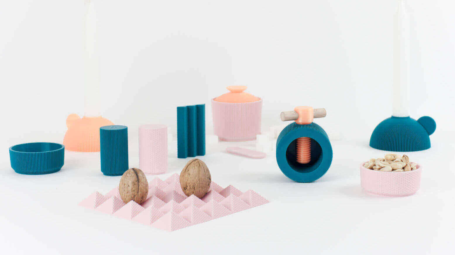 3D Print Beautiful Tableware From UAU Project's Table7 Collection | All3DP