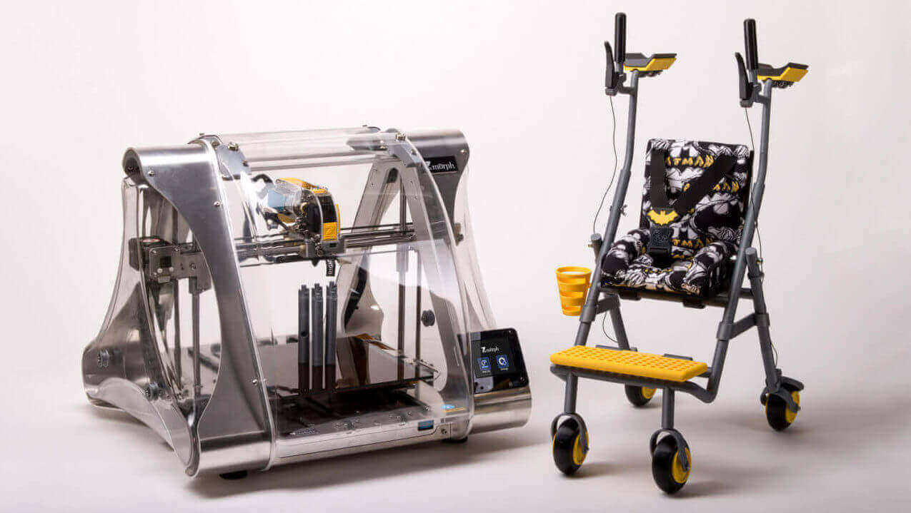 Prototyping a Multifunctional Walker with 3D Printing | All3DP