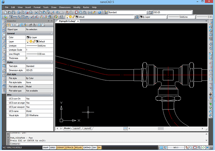 Image of Best Free CAD Software (2D/3D CAD Programs): nanoCAD