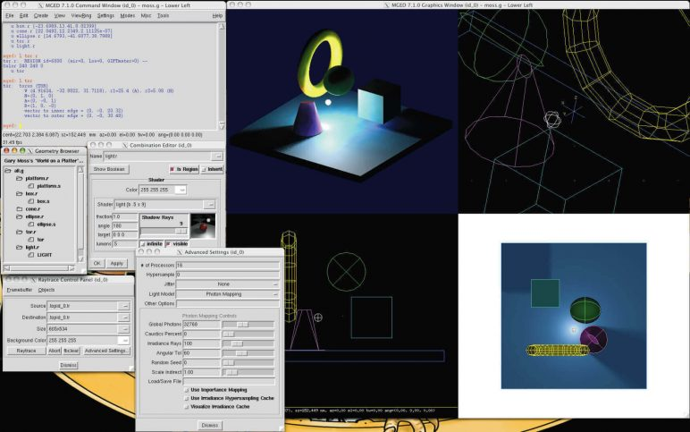 Image of Best Free CAD Software (2D/3D CAD Programs): BRL-CAD