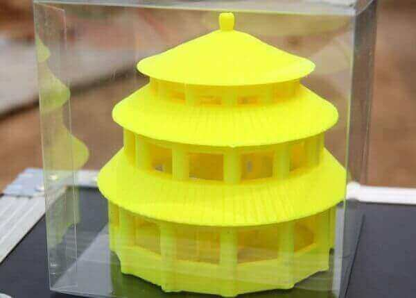 Image of 3D Printed House/Structure: Temple of Heaven Replica