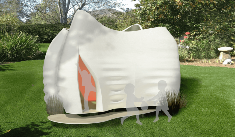 Image of 3D Printed House/Structure: Kooky Cubby