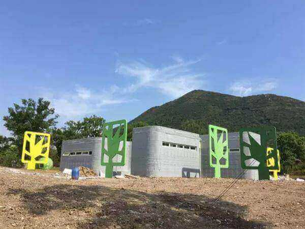 Image of 3D Printed House/Structure: 3D Printed Public Restroom