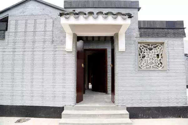 Good Image Of 3D Printed House/Structure: 3D Printed Chinese Courtyards