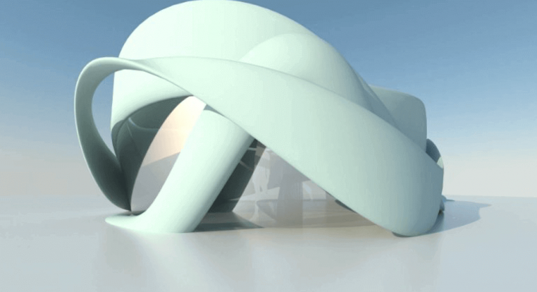 Image of 3D Printed House/Structure: De Slaapfabriek Conference Room