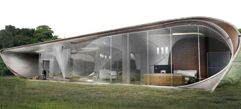 Image of 3D Printed House/Structure: Curve Appeal