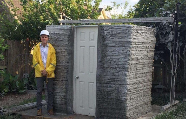 Image of 3D Printed House/Structure: First 3D Printed House In The USA