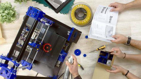 Featured image of Imprimante 3D en kit: les 15 meilleures imprimantes 3D DIY 2018