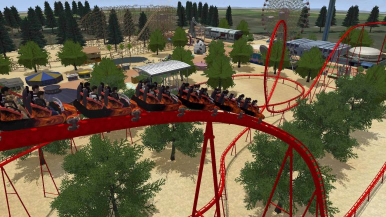 Image of Best VR Roller Coaster Rides: Rollercoaster Dreams