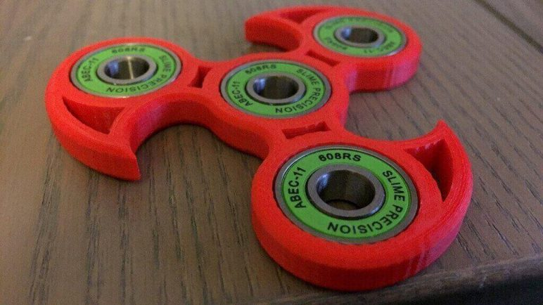 image of best 3d printed fidget spinners fidget tri spinner
