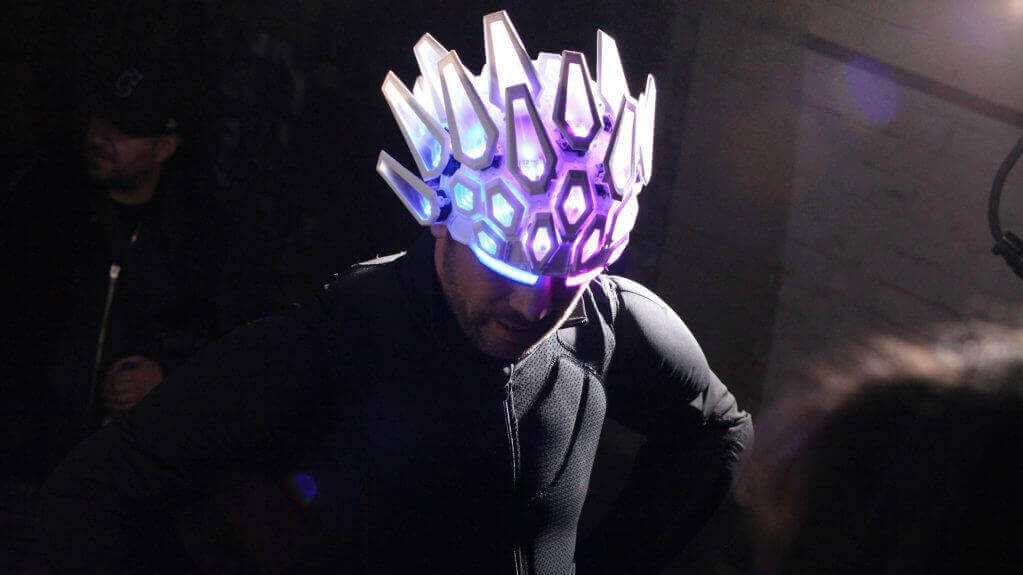 Light-Up Helmet Steals the Show in Jamiroquai Music Video | All3DP