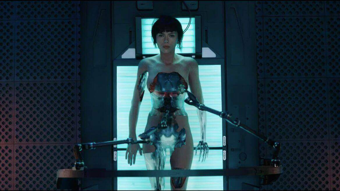 """3D Printing & Scanning Drive """"Ghost in the Shell"""" VFX 