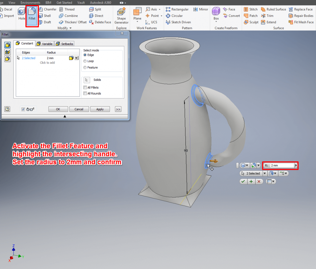 autodesk inventor tutorial 3 easy steps for beginners all3dp rh all3dp com Autodesk Inventor Professional 2013 Projects Inventor Pro Projects