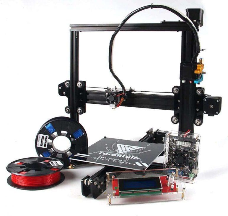 Image of Cheap DIY 3D Printer Kit: Tevo Tarantula