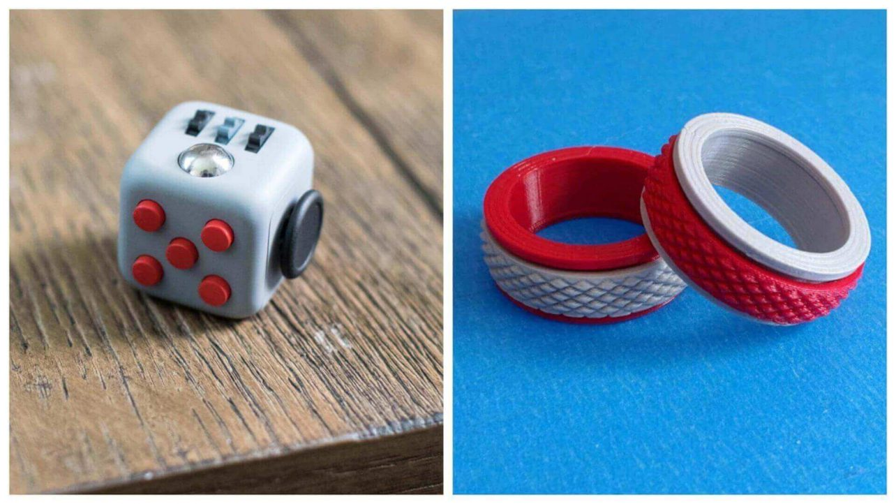 Featured Image Of 32 Great DIY Fidget Toys Spinner Alternatives