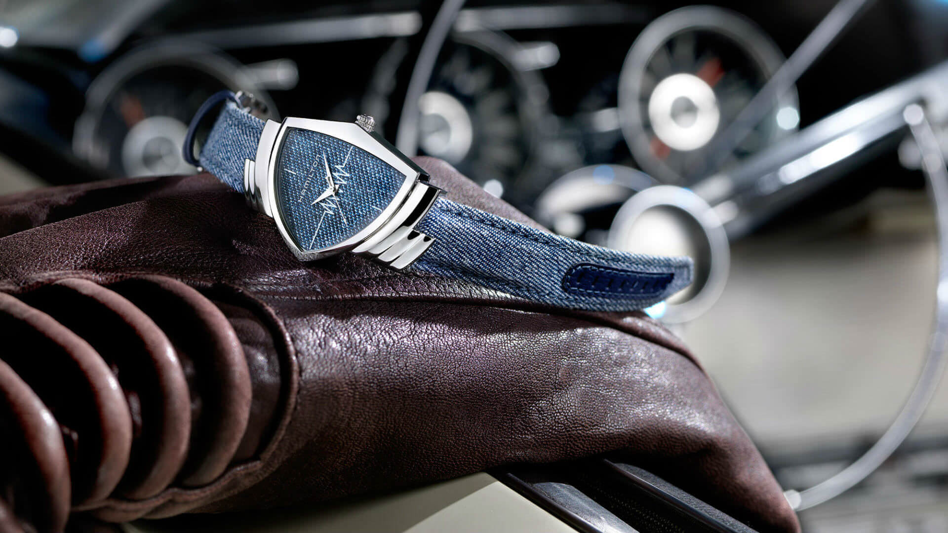 Hamilton Refreshes Ventura Watch Range with 3D Printed Dial | All3DP