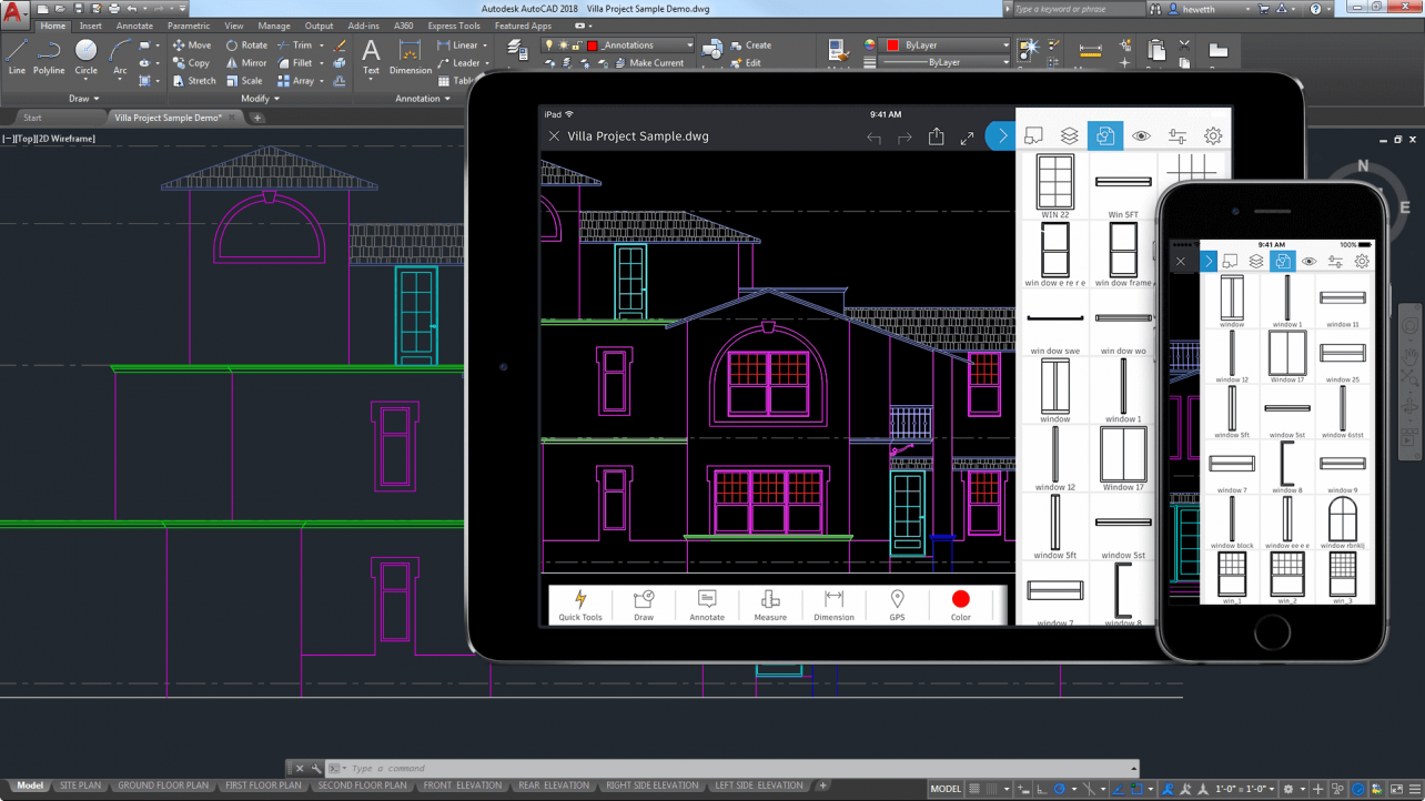 Featured image of 2018 AutoCAD Tutorial – 6 Easy Steps for Beginners