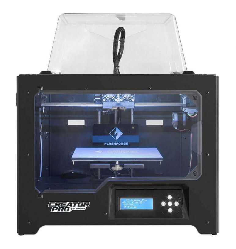 Image of Best Cheap 3D Printer Priced Under $1000: FlashForge Creator Pro