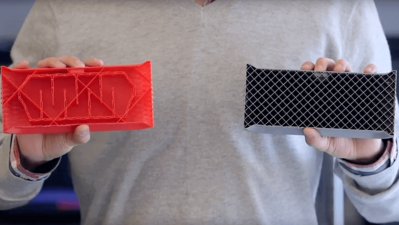MakerBot MinFill Offers Faster Prints With Less Filament | All3DP