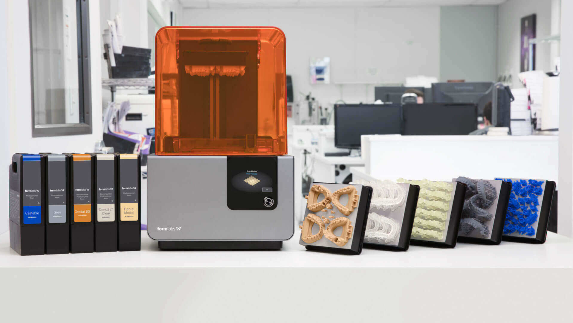 Formlabs Announces 2 New Materials for Dentistry, Partnership with 3Shape | All3DP