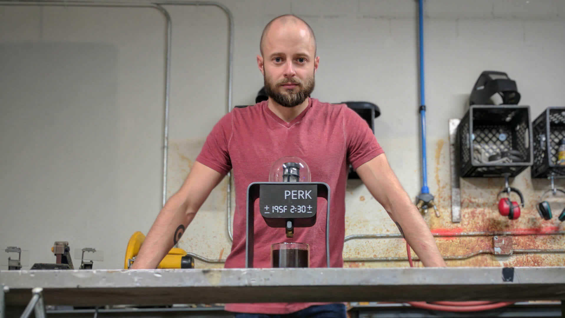 PERK 3D Printed Third Wave Coffee Machine Hits Kickstarter | All3DP