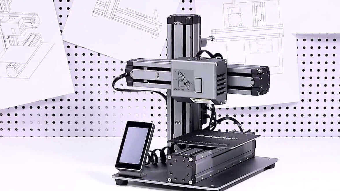 Snapmaker Kickstarter Project Teases 3D Printer, Laser Etcher and CNC Milling All-In-One | All3DP