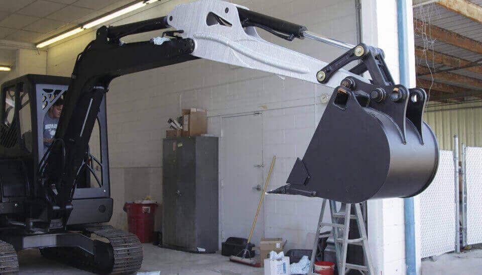 excavator 3d printing