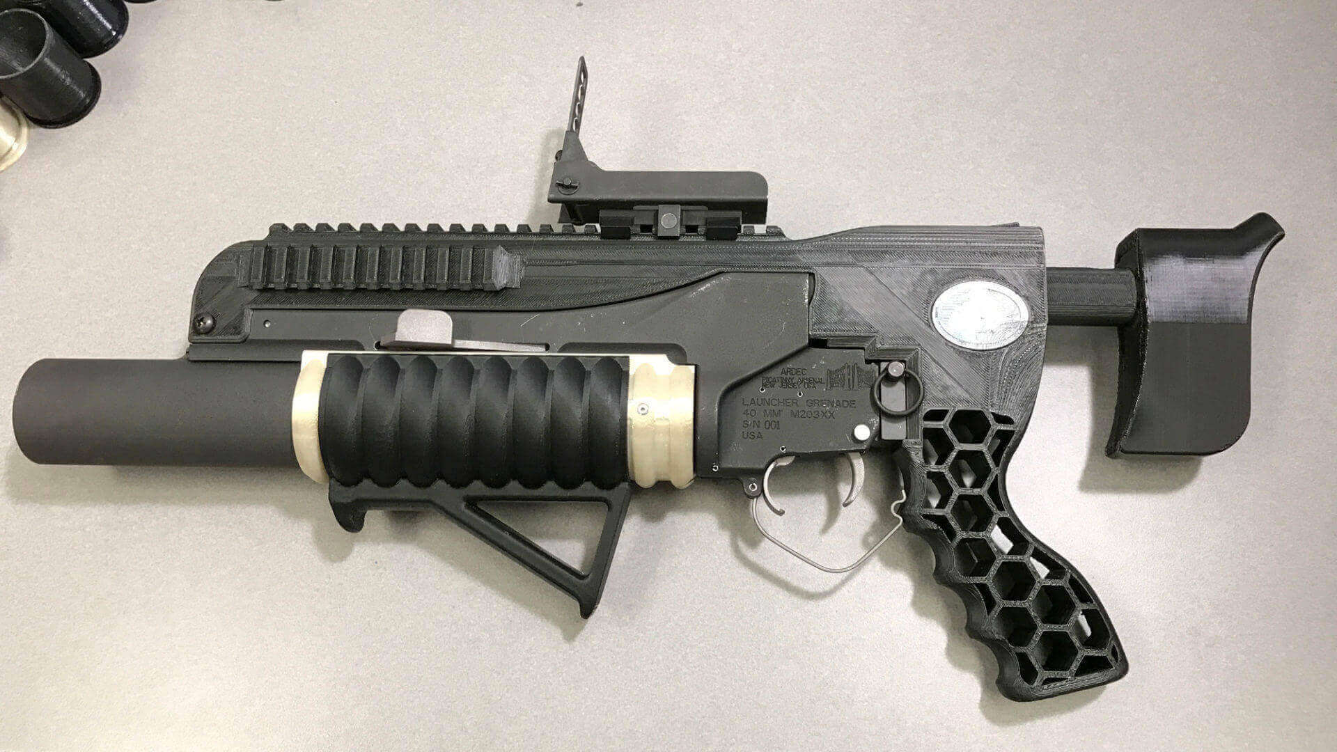 R.A.M.B.O. is a 3D Printed Grenade Launcher Made by U.S. Army | All3DP