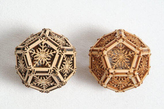 Laser Cutter Ornaments