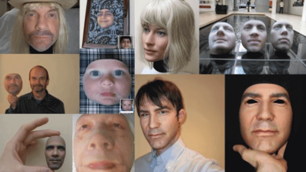 3D Printed Latex Masks can Fool Facial Recognition Systems | All3DP