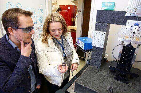 LLNL Researchers Print Aerospace-Grade Carbon Fiber
