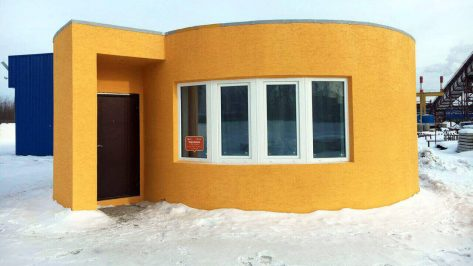 Featured image of Apis Cor 3D Prints a Small House in 24 Hours for $10,000