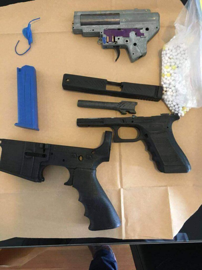 3d printed replica gun