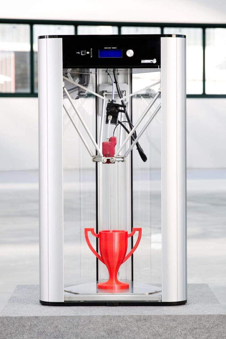 Image of Fastest 3D Printer: DeltaWASP Turbo 2