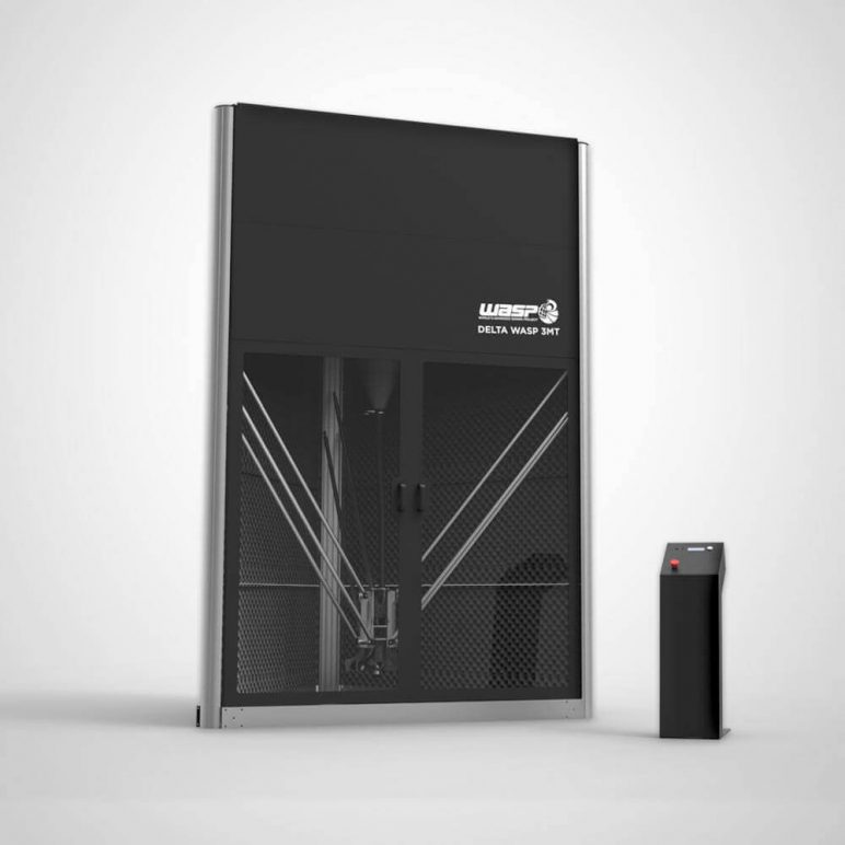 Image of Best Industrial 3D Printer of 2018 – The 21 Most Advanced: DeltaWASP 3MT Industrial
