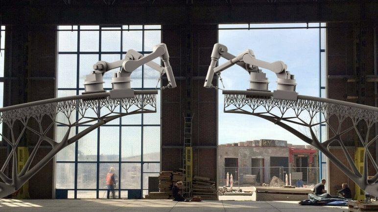 Image de Bâtiment / Structure / Maison imprimée en 3D: Pont MX3D