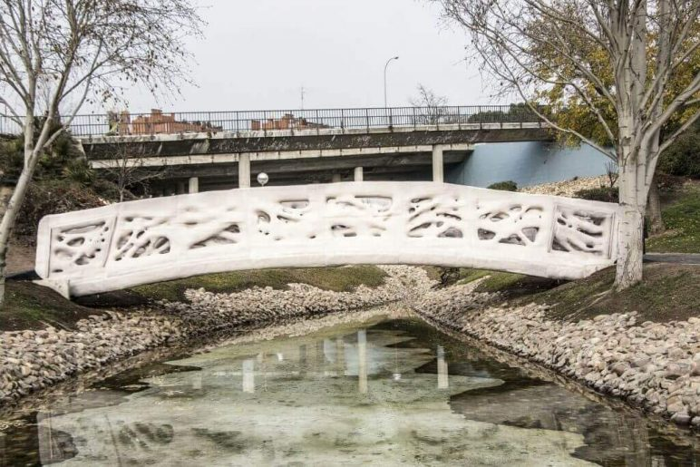 Image of 3D Printed House/Structure: Pedestrian Bridge in Madrid