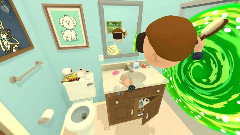 Image of Best VR Games for PS4, Oculus Rift, Android, Vive, iPhone: Rick and Morty: Virtual Rick-Ality