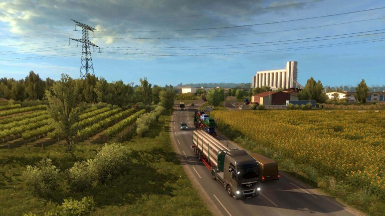 Image of Best VR Games for PS4, Oculus Rift, Android, Vive, iPhone: Euro Truck Simulator 2