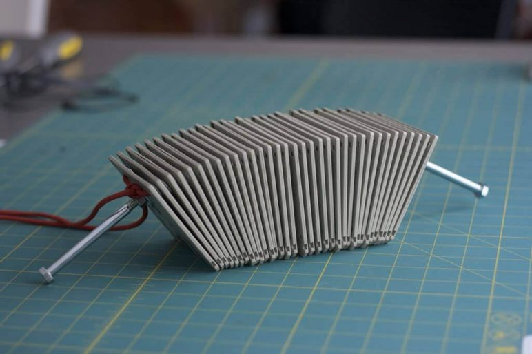 Image of Homemade Instruments to DIY or 3D Print: Floppy Disk Percussion